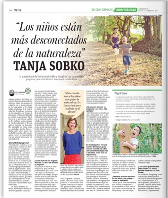 Dr Sobko's interview on a local Chilean Newspaper